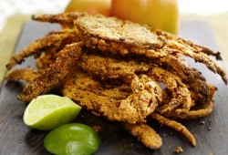 Mango and Lime Jerk Soft Shell Crab