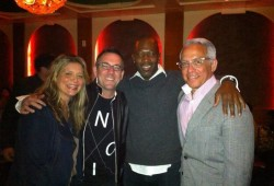 W/ Amanda Freitag, Ted Allen & Geoffrey Zakarian at Harlem's Red Rooster
