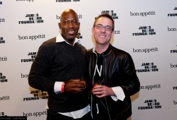 W/ Ted Allen At James Beard Foundation's Chefs Night Out