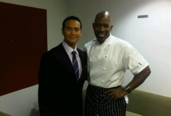 Iron Chef America w/ 'The Chairman' Marc Dacascos