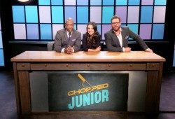 Guiding Chopped Juniors with Mila Kunis and Scott Conant